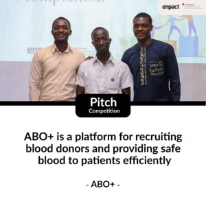 ABO+ won the pitching competition at the Beyond Covid-19 Hackathon, arranged by enpact and sparkassenstiftung.