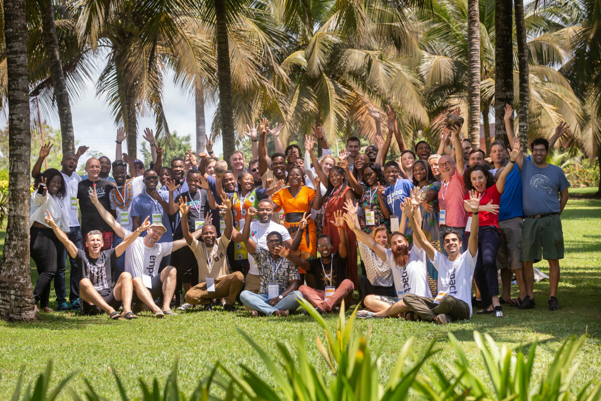 The first Startup Camp of the International Mentoring Program by enpact took place in Ghana in 2019.