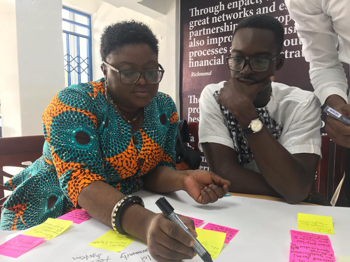 Mentoring sessions and community building workshops were part of PDL Ghana 2020.