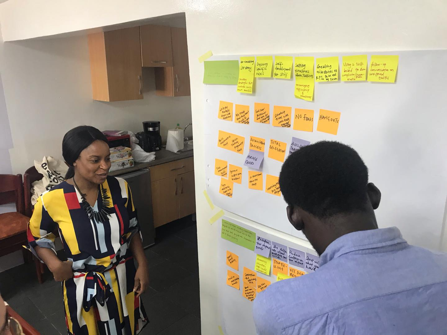 PDL Ghana 2020 took place at enpact's new office in Accra.